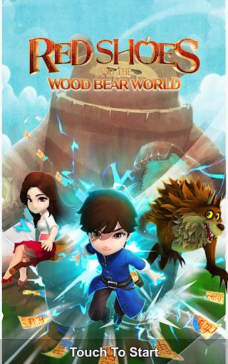 Red Shoes: Wood Bear World screenshots 9