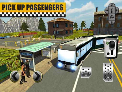Bus & Taxi Driving Simulator  screenshots 11