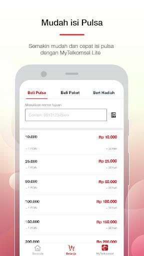 MyTelkomsel Lite – Mudah Cek Kuota & Beli Paket