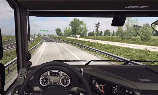 Truck Simulator : Indonesia Truck Box  screenshots 1