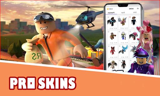 Code Triche Roblox Skins Master Free (Astuce) APK MOD screenshots 4
