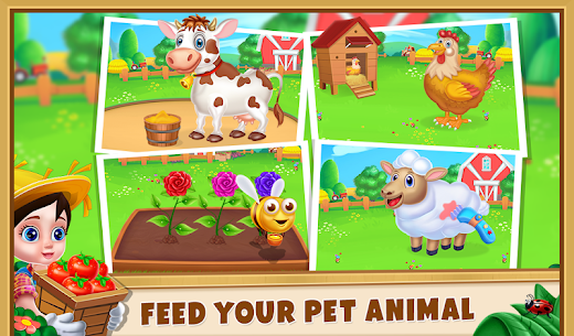 Farm House – Farming Games for Kids Apk Download NEW 2021 3