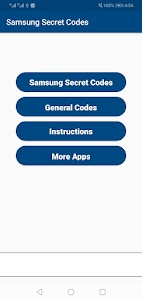 Latest Samsung Secret Codes 2021 1.2