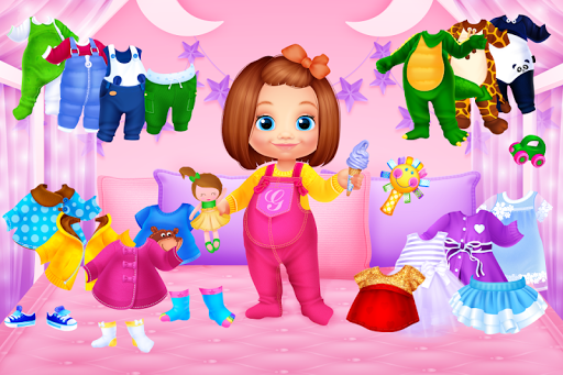 toddler dress up - girls games screenshot 1
