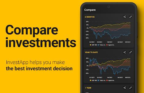InvestApp Pro MOD APK – Stocks, Markets & Financial News 3