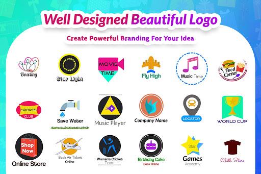 Logo Maker & Logo Design Generator 3.6 Screenshots 1