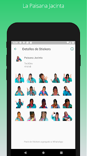 Stickers Peru para Whatsapp - WAStickerApps Screenshot