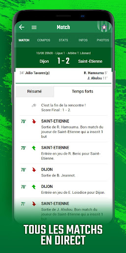 Foot Saint-Etienne modavailable screenshots 3