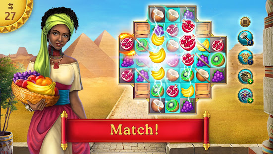 Cradle of Empires Match 3 Game 6.7.6 APK + Mod (Unlimited money) untuk android