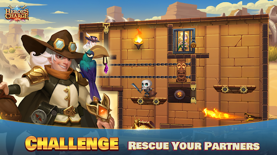 Heroes Charge Mod Apk 2.1.291 Unlimited Money/Gems for Android 2