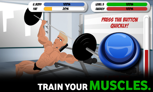 Bodybuilding and Fitness game - Iron Muscle apklade screenshots 1
