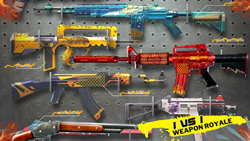 Alone Shooter : 1v1 Offline Clash Squad 2021 Apkfinish screenshots 15