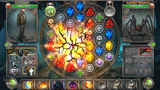 Gunspell – Match 3 Puzzle RPG Mod Apk (Unlimited Money) 1.6.439 5