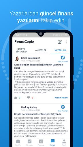 FinansCepte Du00f6viz & Altu0131n Kurlaru0131 - Borsa BitCoin 5.6.7 Screenshots 4
