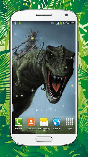 Dinosaur Live Wallpaper HD screenshots 3