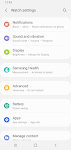 screenshot of Galaxy Wearable (Samsung Gear)