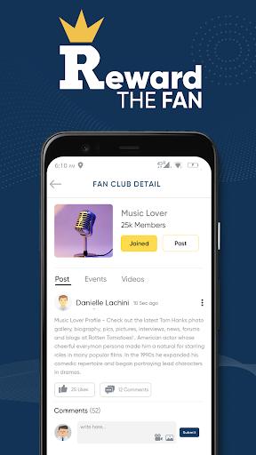 Reward The Fan Trivia screenshots 5