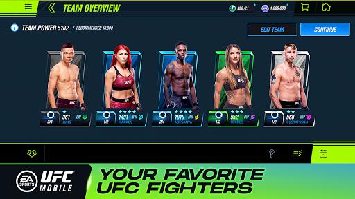 EA SPORTSu2122 UFCu00ae Mobile 2 1.5.04 screenshots 2