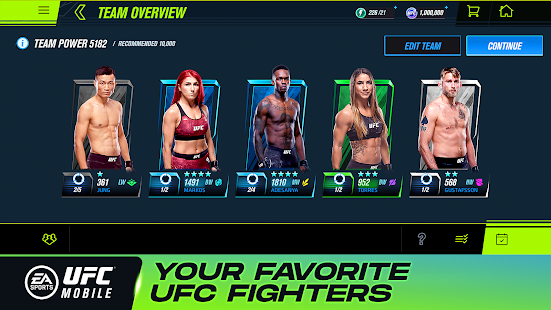 EA SPORTS™ UFC® Mobile 2 1.4.02 APK + Mod (Free purchase) for Android