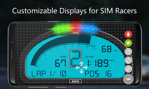 SIM Dashboard screenshots 1