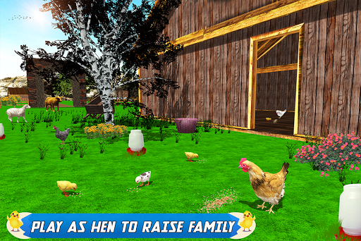 New Hen Family Simulator: Chicken Farming Games  screenshots 14