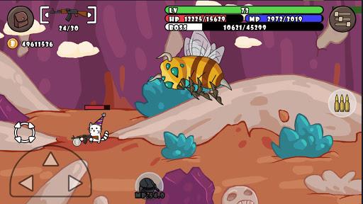 Cat Shooting War: Offline Mario Gunner TD Battles 1.58 screenshots 8