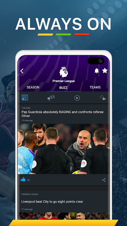 365Scores - Live Scores and Sports News  poster 5