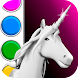 Unicorn 3D Coloring Book - Androidアプリ