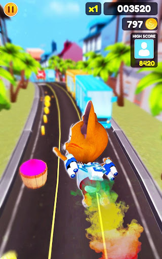 Cat Run Simulator 3D : Design Home screenshots 16