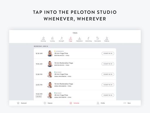 Peloton - at home fitness Apkfinish screenshots 11
