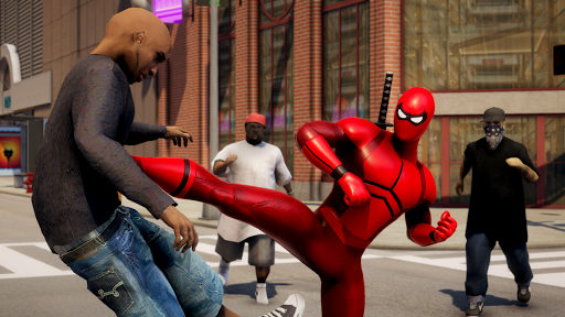 POWER SPIDER - Ultimate Superhero Parody Game apktram screenshots 1