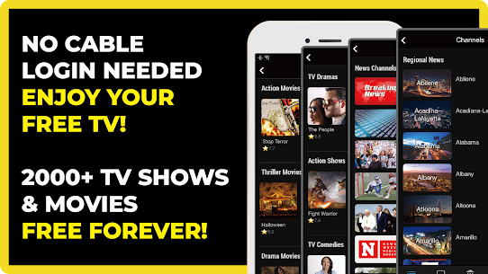 FREECABLE TV App: Free TV Shows, Free Movies, News 1