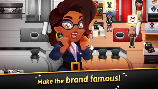 Hip Hop Salon Dash - Fashion Shop Simulator Game apktreat screenshots 2