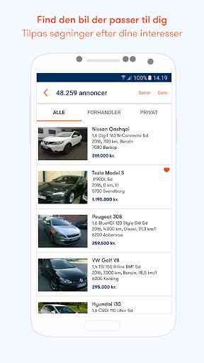 Bilbasen u2013 ku00f8b brugte biler apktram screenshots 3