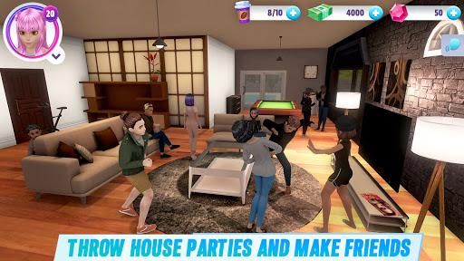 Virtual Sim Story: 3D Dream Home & Life screenshots 1