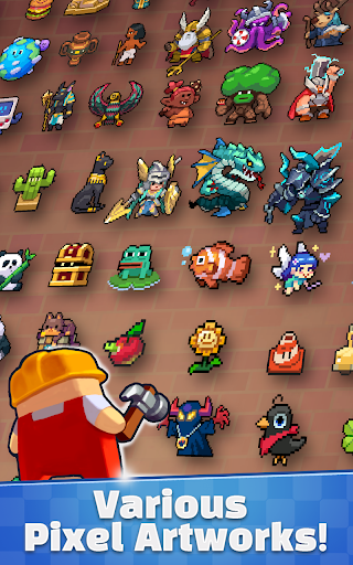 Super Retro World : Pixel Art Maker  screenshots 3