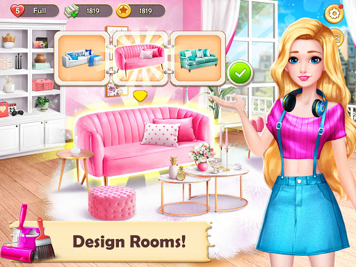 Home Design: Dream House Games for Girls  screenshots 8