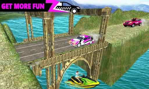 New York Taxi Duty Driver: Pink Taxi Games 2018  screenshots 15