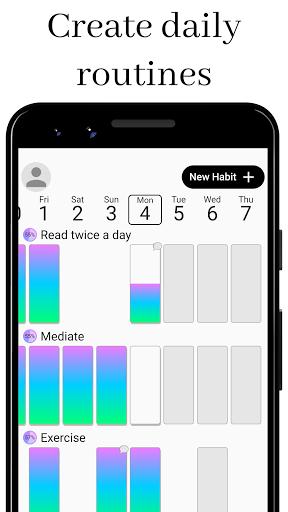 Habit Challenge - Build New Habits & Change Life modavailable screenshots 1
