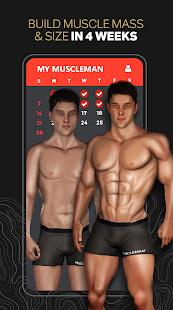 MuscleMan: Fitness Workout Planner & Nutrition