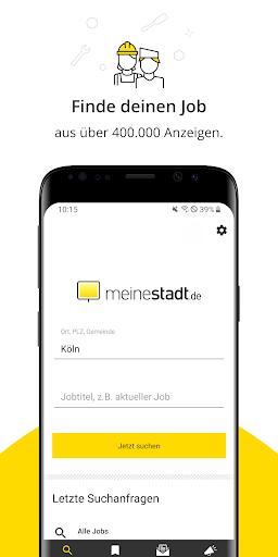 Jobbu00f6rse - Jobs finden auf meinestadt.de android2mod screenshots 1
