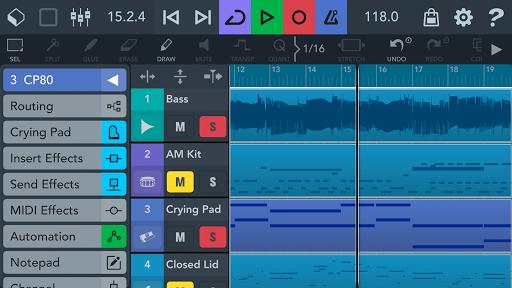 Cubasis LE 3 Trial - Music Studio and Audio Editor  Screenshots 1