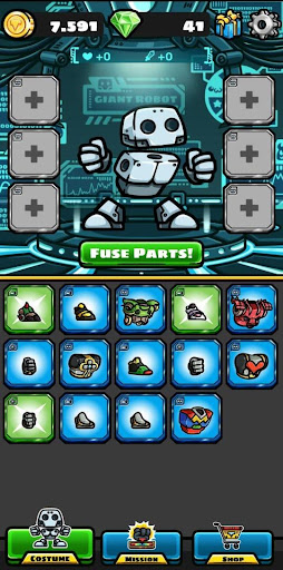 Code Triche On Point Mecha (Astuce) APK MOD screenshots 5