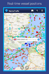 MarineTraffic ship positions Mod