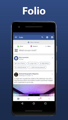 Download APK: Folio for Facebook & Messenger v3.8.1 [Premium] [Mod Extra]