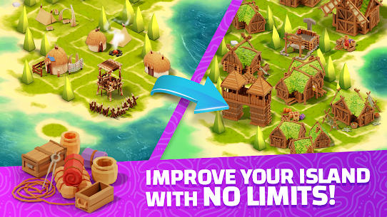 Idle Islands Empire: Building Tycoon Gold Clicker Mod Apk 1.0.7 2