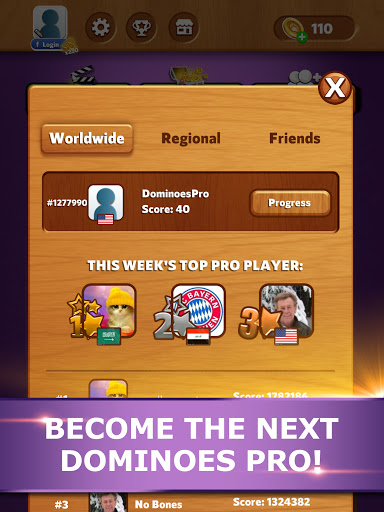 Dominoes Pro   Play Offline or Online With Friends  Screenshots 11
