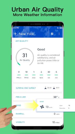 Weather - Live weather & Radar app 1.0.3.9 Screenshots 5