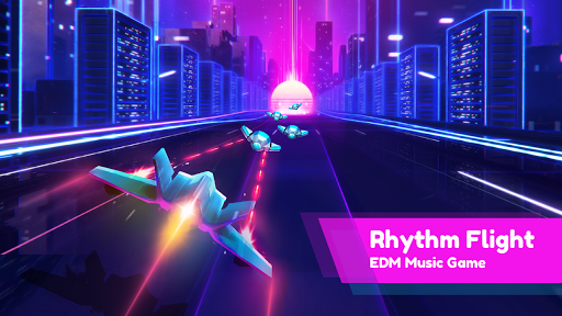 Rhythm Flight: EDM Music Game 0.8.4 Screenshots 1