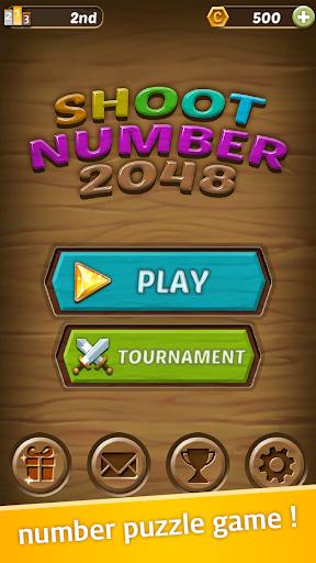 Shoot Number 2048 - Hexa Bubble Shooter 1.1.0 screenshots 1